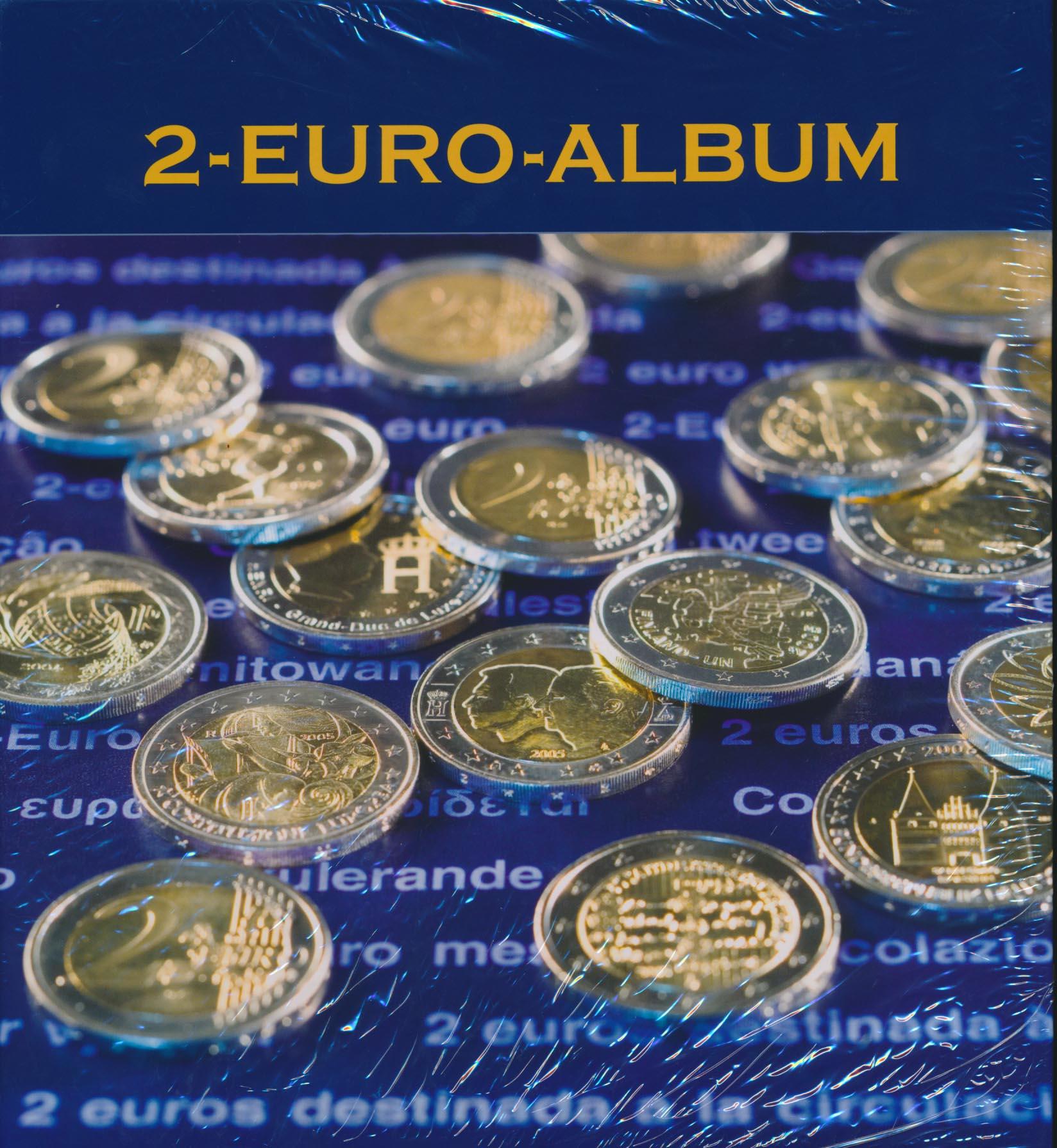 Leuchtturm 2 Euroalbum Band Ii Für Alle 2 Euromünzen 2009 Bis 2011